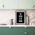 THIS KITCHEN IS FOR DANCING - mock up