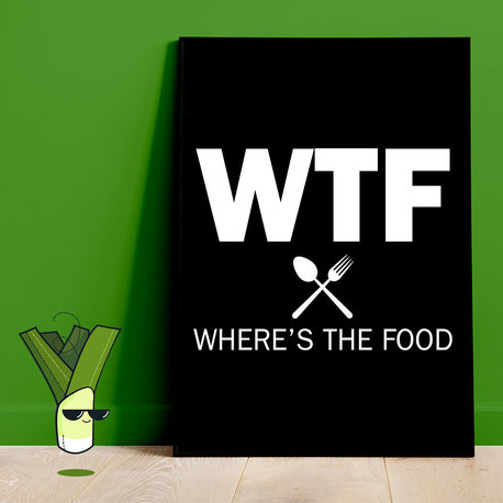 WTF WHERE'S THE FOOD