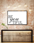 BE YOU TIFUL - MOCK UP 2